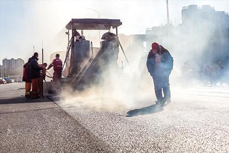 hot pavement